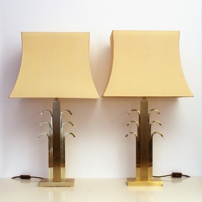 Set of 2 desk lamps from the eighties by unknown designer for WKR