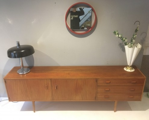 Modulus sideboard from the sixties by unknown designer for Fristho