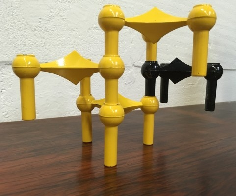 S22 Candle holders by Fritz Nagel & Ceasar Stoffi for Nagel, 1950s