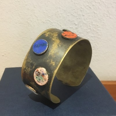 Bracelet from the sixties by unknown designer for unknown producer