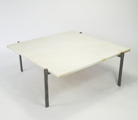 PK61 coffee table by Poul Kjærholm for E. Kold Christensen, 1950s