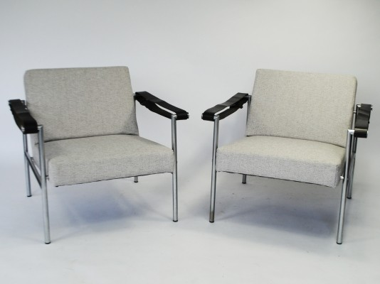 2 SZ08 lounge chairs from the sixties by Martin Visser for Spectrum