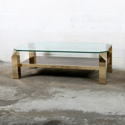 Coffee table from the seventies by unknown designer for Belgo Chrom