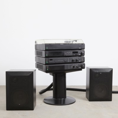Braun Atelier 1 Stereo Set + speakers by Dieter Rams