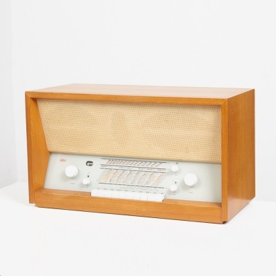 Model TS 3 Radio from the fifties by Herbert Hirche for Braun