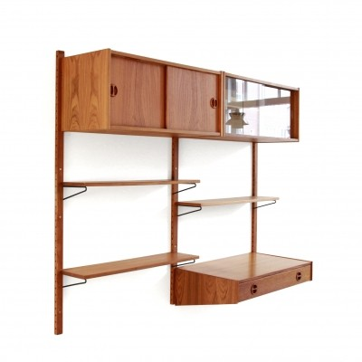 Wall unit from the sixties by unknown designer for Royal Board
