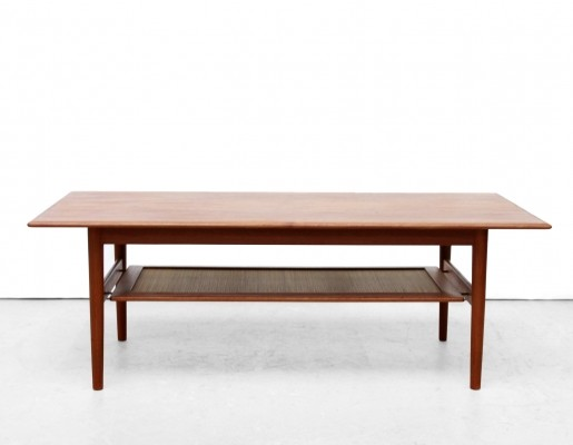 Coffee table by Peter Hvidt & Orla Mølgaard Nielsen for France & Son, 1950s