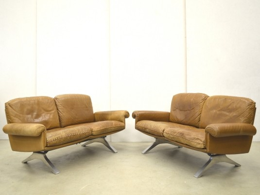 2 DS31 sofas from the sixties by De Sede Design Team for De Sede