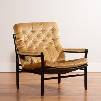 Lounge chair from the seventies by Kenneth Bergenblad for Dux