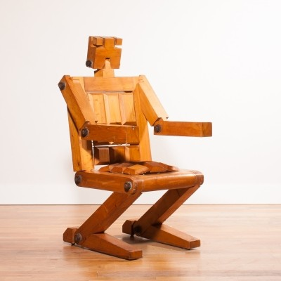 Robot lounge chair from the seventies by unknown designer for unknown producer