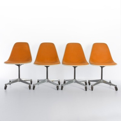 Eames DST Side Chairs on Contract Bases