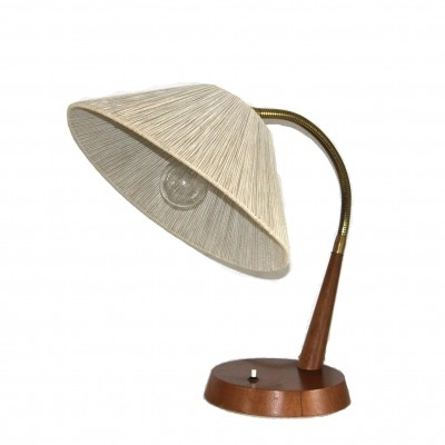 Model 31 desk lamp from the fifties by unknown designer for Temde Leuchten