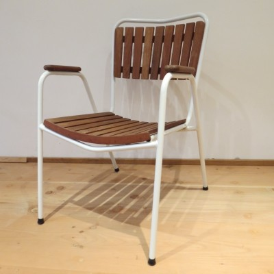 Set of 4 dinner chairs from the sixties by unknown designer for Daneline