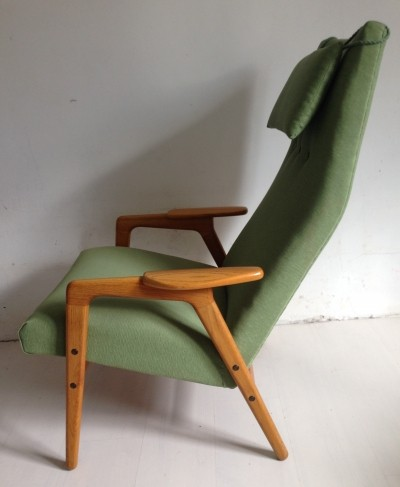Ruster lounge chair by Yngve Ekström for Pastoe, 1950s