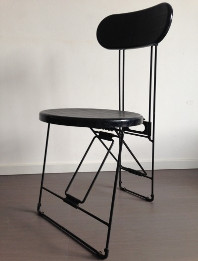 Set of 6 Cricket dinner chairs from the eighties by Andries van Onck for Magis