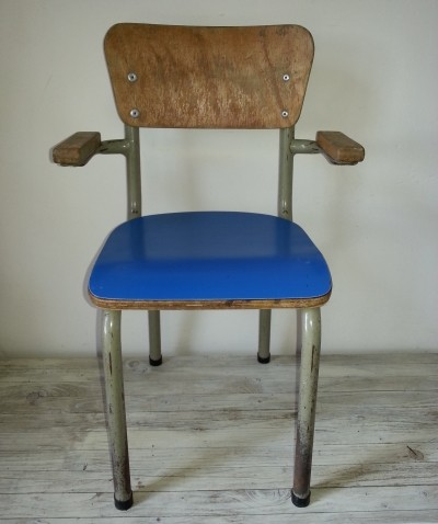 Chair children furniture from the sixties by Willy van der Meeren for Tubax