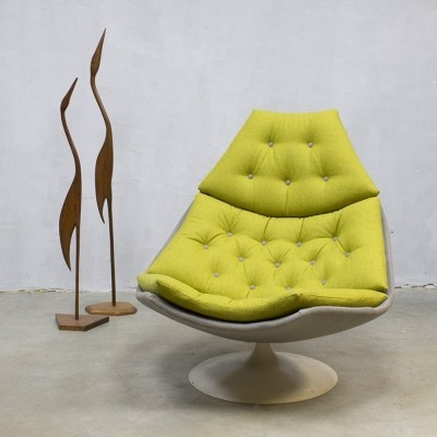 F588 lounge chair from the seventies by Geoffrey Harcourt for Artifort