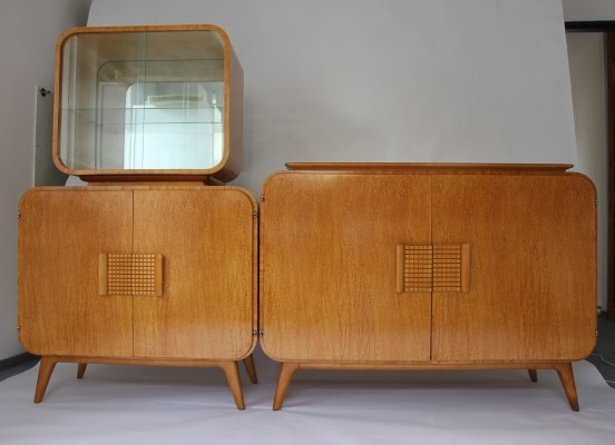 Sideboard from the forties by Jindřich Halabala for Spojene UP Zavody