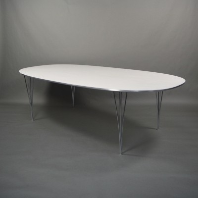 Dining table from the nineties by Piet Hein & Bruno Mathsson for Fritz Hansen