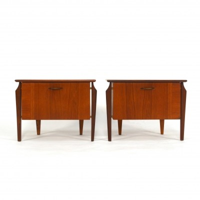 4 cabinets from the fifties by unknown designer for Wébé