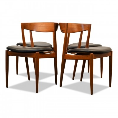 Set of 4 dinner chairs from the sixties by unknown designer for Bramin