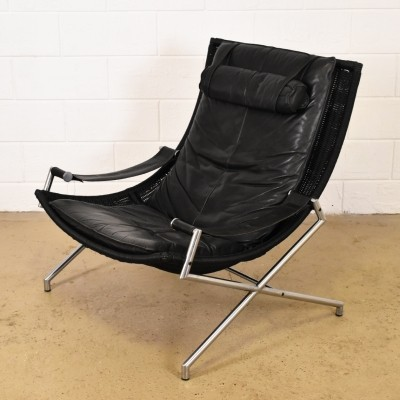 DES2021 lounge chair from the seventies by Gerard van den Berg for Rohé Noordwolde