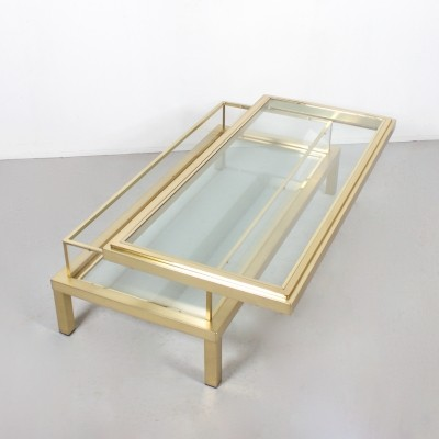 Coffee table from the seventies by unknown designer for Maison Jansen