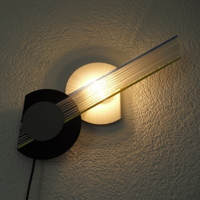 Wall lamp from the eighties by unknown designer for Neogetti Italy