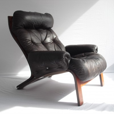 Lounge chair from the seventies by Oddvin Rykken for Rybo