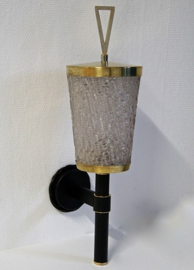 Wall lamp from the fifties by unknown designer for Maison Arlus