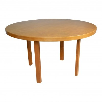 L-leg dining table from the thirties by Alvar Aalto for Artek