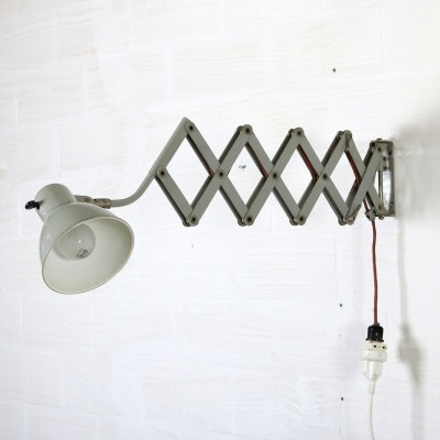 Wall lamp from the forties by unknown designer for SIS
