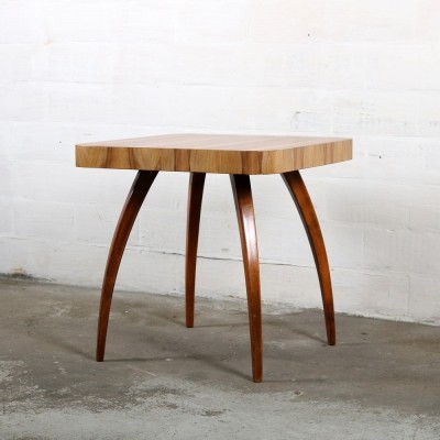 Side table from the thirties by Jindřich Halabala for Spojene UP Zavody