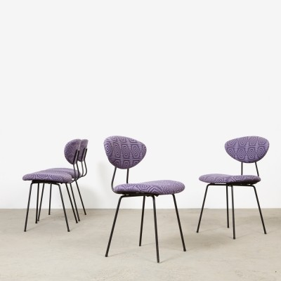 Set of 4 dining chairs by Rudolf Wolf for Elsrijk, 1950s
