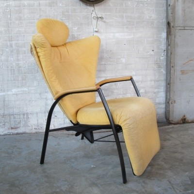 Lounge chair from the eighties by Bonaldo Goraco for unknown producer