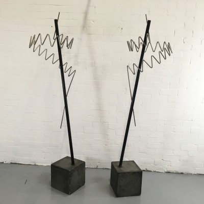 2 coat racks from the nineties by Marco Goldenbeld for unknown producer