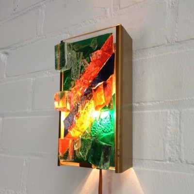 Wall lamp from the seventies by unknown designer for Cosack