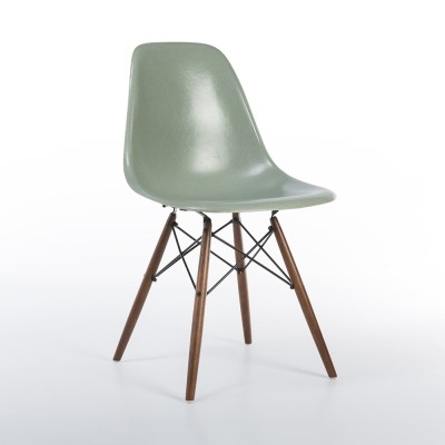 Original Herman Miller Eames Seafoam DSW Dining Side Chairs