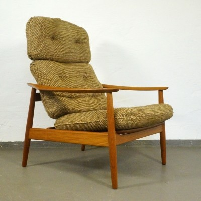 FD 164 lounge chair from the sixties by Arne Vodder for France & Son