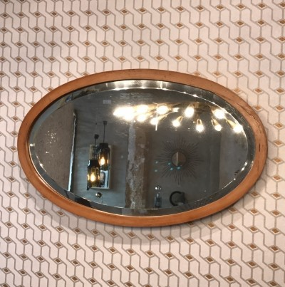 Oval mirror 1930's