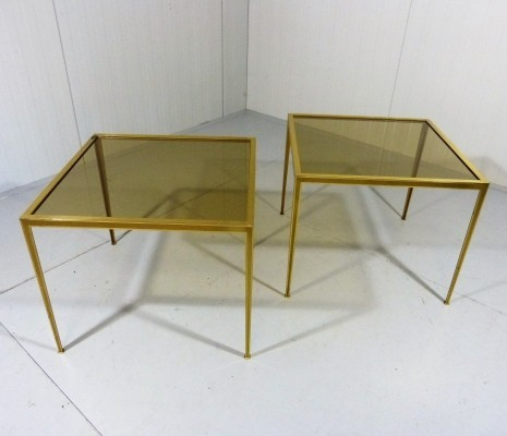 Set of 2 side tables from the fifties by unknown designer for Vereinigte Werkstätten