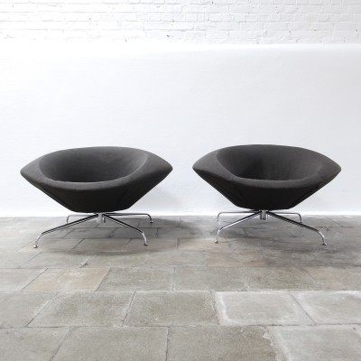Set of 2 lounge chairs by René Holten for Artifort