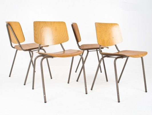 19 x model 305 dining chair by Kho Liang Ie for CAR Catwijk, 1960s