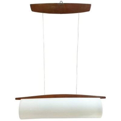 Model 554 hanging lamp by Uno & Östen Kristiansson for Luxus, 1950s