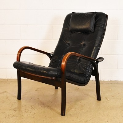 Lounge chair from the sixties by Yngve Ekström for Swedese