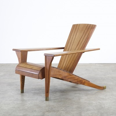 Meditation Deck chair from the eighties