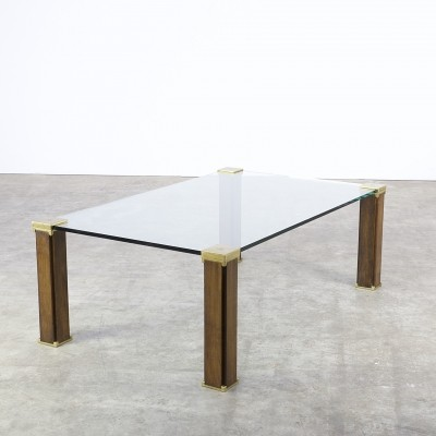Coffee table from the seventies by Peter Ghyczy for Ghyczy