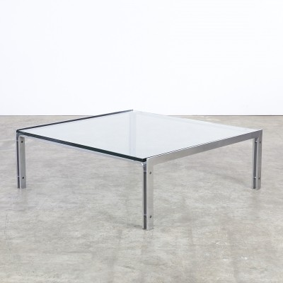 M1 coffee table from the seventies by unknown designer for Metaform