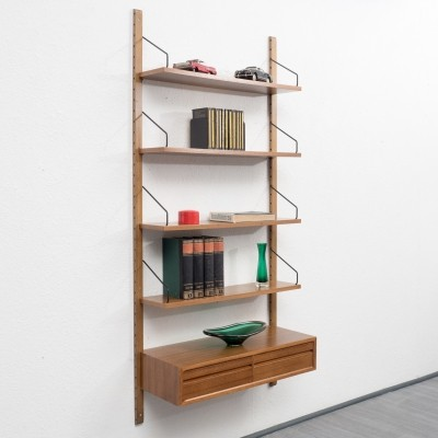 Wall unit from the sixties by Poul Cadovius for unknown producer