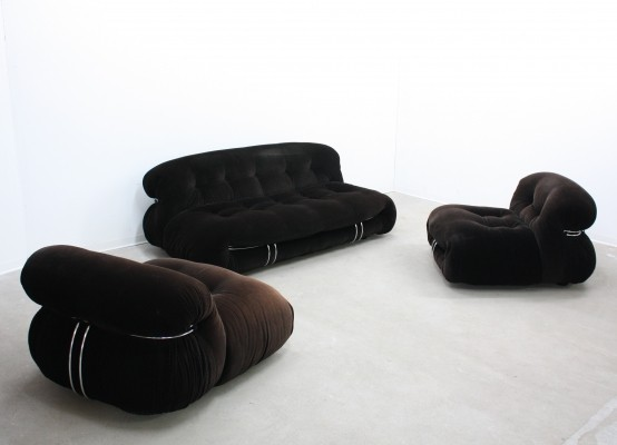 Seating group by Afra Scarpa & Tobia Scarpa for Cassina, 1960s